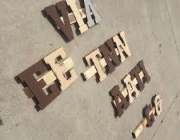 Barn Wood Letters Old Barn Wood Vintage Sign Diy Repurposelifeblog