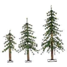 2ft 3ft 4ft pre lit artificial tree 3 pc needle