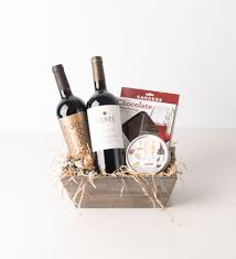 wine and chocolate gift basket wine basket bartz viviano flowers gifts