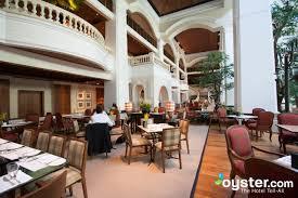 the dining room at the grand hyatt erawan bangkok oyster com