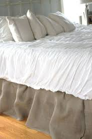 bed ruffle with velcro home beds decoration