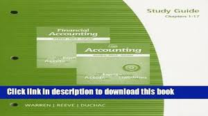 read books study guide chapters 1 17 for warren reeve duchac s