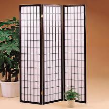 furniture outstanding image of 3 panel japanese black metal white