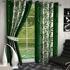 Premium Curtains Buy Sai Arpan S Green Premium Kolaveri Door Curtains Set Of 2