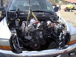 dakota hemi swap done heres how dodge dakota forum custom