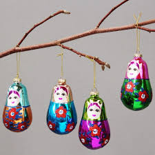 russian doll tree decorations rainforest islands ferry