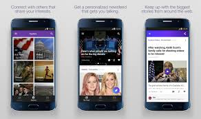 yahoo app for android yahoo launches newsroom app for android