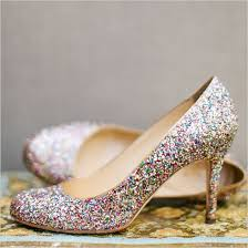 wedding shoes glitter a bright and whimsical wedding sparkle shoes sparkle heels and