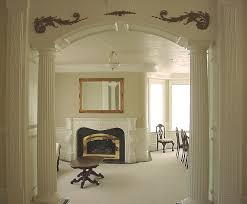 home interior arch designs pillar the column supporting the arch for the home pinterest