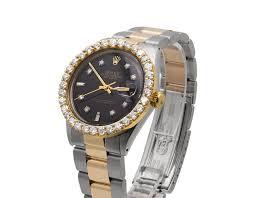 rolex steel oyster bracelet images Rolex datejust 18k 2 tone stainless steel oyster bracelet diamond jpg
