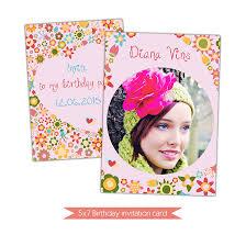 Birthday Cards Invitation Nuwzz Happy Birthday Card Invitation Photoshop Template Di 0073