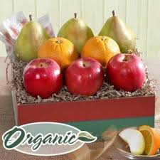 fruit gifts organic fruit trio deluxe from california fruit gifts