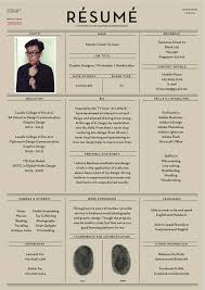 Unique Resume Examples by 13 Best Cv Examples Images On Pinterest Resume Ideas