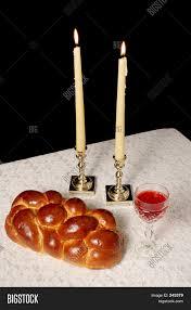 sabbath candles shabbat candles lighted image photo bigstock