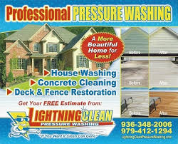 Pressure Washing Estimate by Lightning Clean Pressure Washing