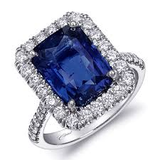sapphire rings platinum images Coast diamond diamond emerald cut sapphire and diamond platinum jpg