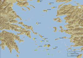 Map Of Ancient Greece And The Aegean World by Epigraphic Sources For Early Greek Writing