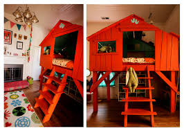 Tree House Bunk Beds Storage BEST HOUSE DESIGN  Fun Themed Tree - Treehouse bunk beds