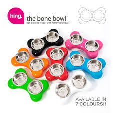 hing designs the bone bowl red amazon co uk pet supplies