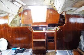Boat Interior Refurbishment Teak Interior Refurbishment U2013 Part 1