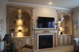 Fireplace Mantels With Bookcases Bookcases And Fireplace Mantels Traditional Family Room