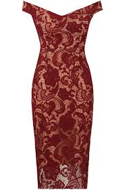 coloured dress wine colour lace midi christmas party nye dress