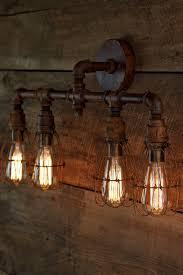 Rustic Industrial Bathroom by Best 25 Rustic Lighting Ideas On Pinterest Rustic Light