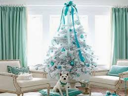 Christmas Decorating Ideas For Small Living Rooms Blue Christmas Decorations Christmas Lights Decoration