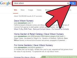 Dave Wilson Nursery Backyard Orchard by 3 Ways To Find A Current Address For Someone Wikihow