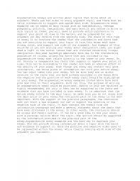 strong argumentative essay cover letter example argumentative