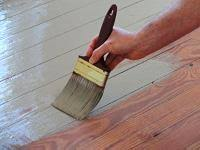 wood painting how to paint wood floors today s homeowner