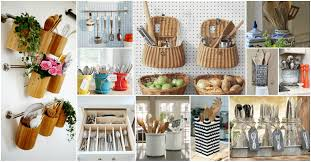20 creative ideas of how to organize your kitchen utensils ideas