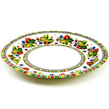 paper plates center paper plates lowicz floral design
