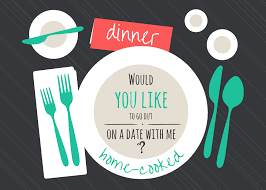 Invitation Card For Dinner Coprinted Blog Date Invitation U2013 Free Card