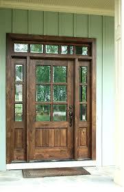 Exterior Wood Door Manufacturers Wood Front Entry Door Wood Front Entry Doors Manufacturers Hfer