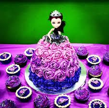 high birthday cakes after high doll cake and cupcakes created by