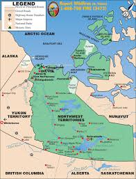Map Of Canada And Alaska by Northwest Territories Map