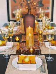 Thanksgiving Table Centerpieces by Decorations Inspiring Modern Thanksgiving Table Decor Alongside