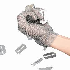 Safety Kitchen Knives High Quality 304l Stainless Steel Mesh Glove Knife Cut Resistant