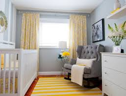 Lemon Nursery Curtains Color Psychology For Nursery Rooms Learn How Color Affects Your