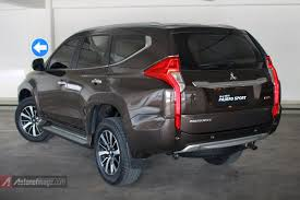 mitsubishi pajero sport 2016 all new mitsubishi pajero sport 2016 indonesia brown color