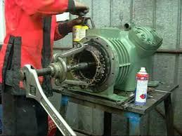 bitzer v4 semi hermetic compressor motor end pt2 the stator wmv