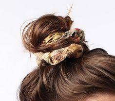bun scrunchie stage 6 communication the way you wear a scrunchie changes the