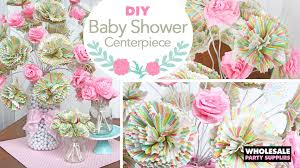 baby shower paper diy baby shower paper bouquet centerpiece party ideas