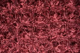pink rosette table runner burgundy rosette satin table runners