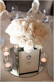 White Roses Centerpiece by 193 Best White Ivory Weddings Images On Pinterest Marriage
