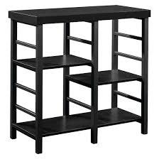 horizontal bookcase black room essentials target