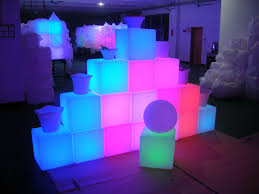 led cubes led cube table l with colors logo buy cube led l with logo