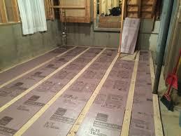 basement subfloor roll basement decoration by ebp4