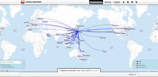 Alaska Route Map by Booking Alaska Partner Awards U2013 Jal Pointsnerd